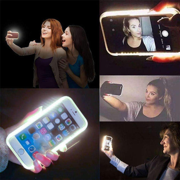 more photos 0f96b 2073c Selfie Light Case For iPhone