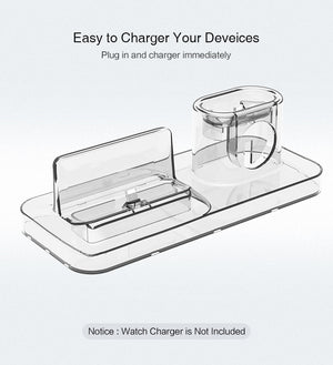 3 In 1 Desktop Charger For Apple Devices, Three in one apple device charger - Dgitrends