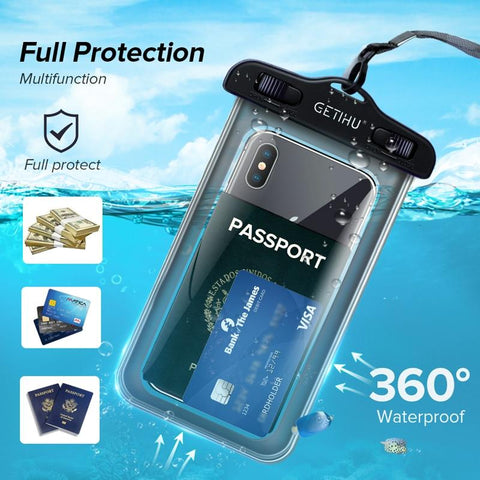 Waterproof Phone Case Universal Model For iPhone Samsung HTC Xiaomi