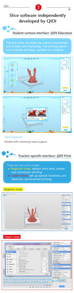 QIDI X-MAKER Precision 3D Printer, Qidi 3d Printer - Dgitrends