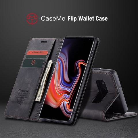 For Samsung Galaxy S10 With Slotted Credit Card & Billfold Compartment