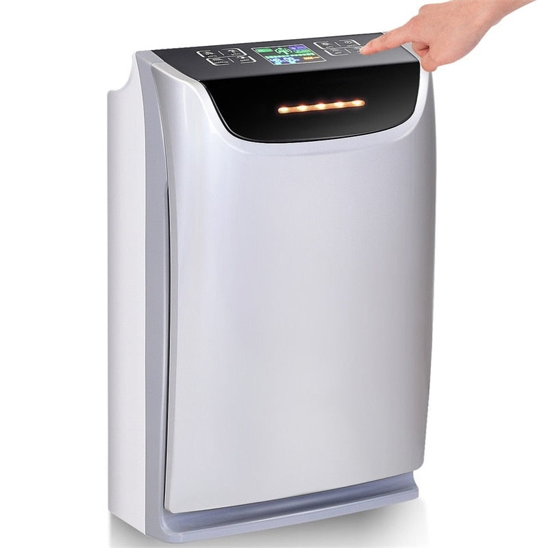 COSTWAY HEPA Air Purifier Negative Ion Generator,  - Dgitrends