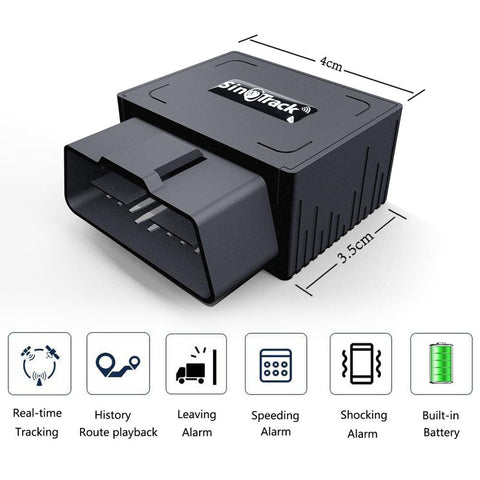 GPS Tracker With Car OBD Interface