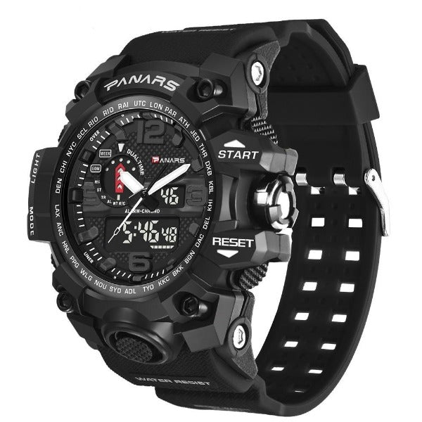 Panars_Digital_Military_Watch_Dual_Time_Display