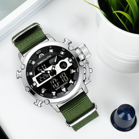 Men's military Chronograph Watch