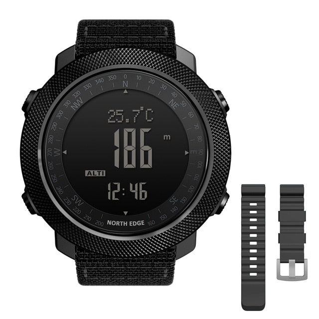 Men's Extreme Military Watch With Weather Tracker, Watch >> Men's Military Watch >> Military Smartwatch - Dgitrends