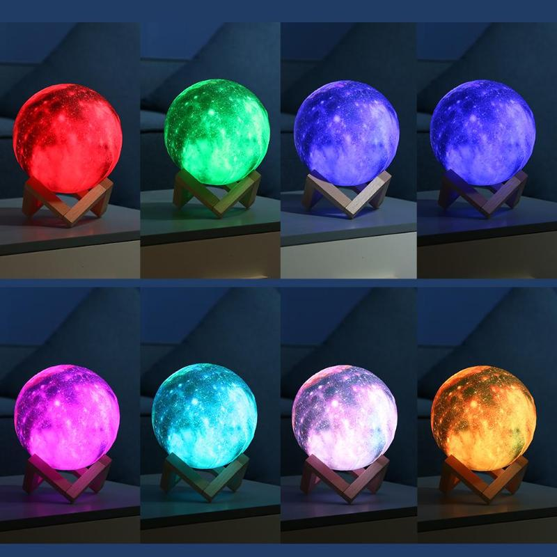 3D Moon Night Light With Remote - Dgitrends