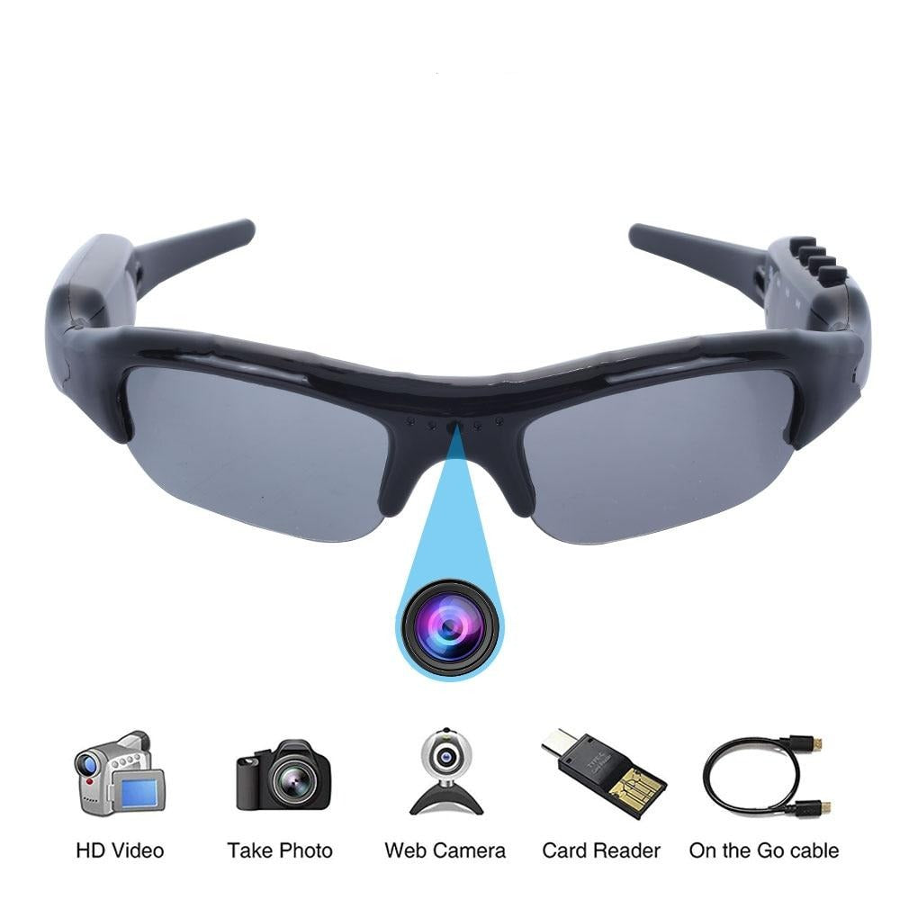 HD Video Camera Sunglasses DVR Glasses