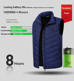 Electric Heated Hiking Thermal Vest