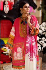 SANA SAFINAZ - MAHAY LAWN - CODE: 13A - 2PIECE - UNSTITCHED - PINK
