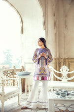 CROSS STITCH - SHEESH MAHAL - PURPLE GLAZE (0120RTSPRTLWN0225)