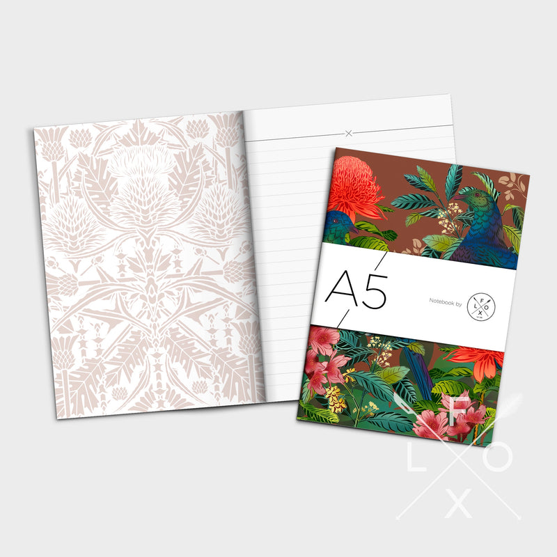 Flox A5 Lined Notebooks Set of 3