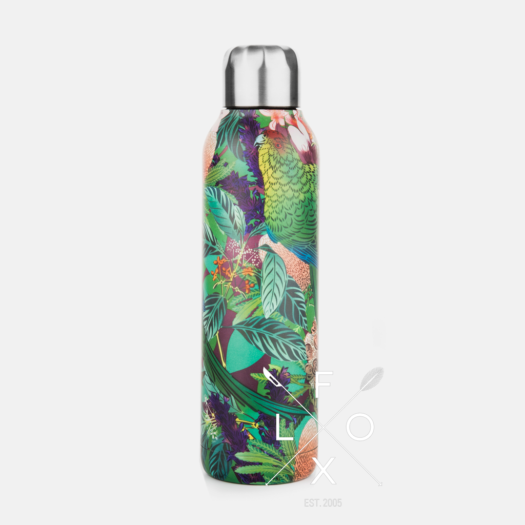 Flox Papura Insulated Stainless Steel Water Bottle 600ml