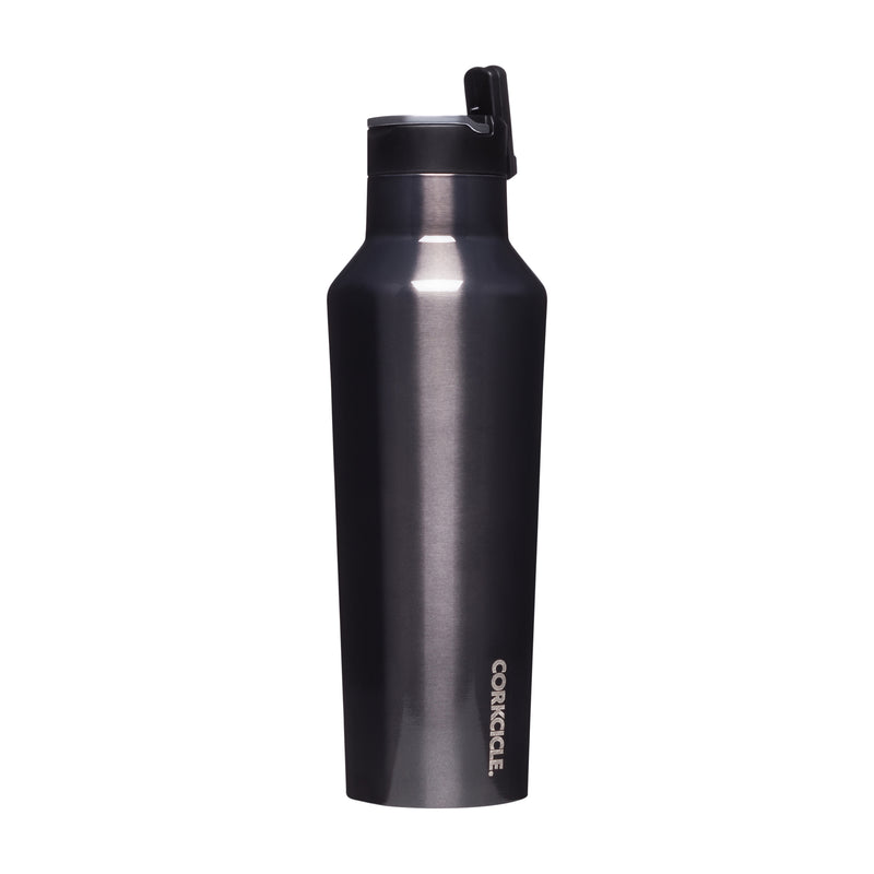 Corkcicle Metallic Sports Canteen 600ml Gunmetal