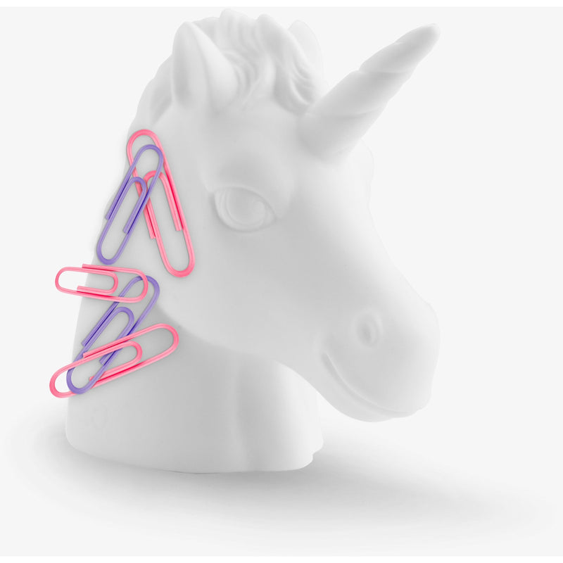 Unicorn Magnetic Paperclip Holder,Desktop Accessory, Mustard - Yum Yum Store