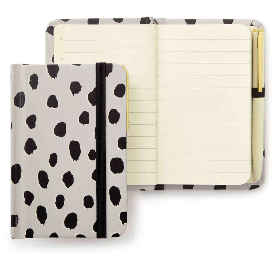 Kate Spade New York Mini Notebook With Pen - Flamingo Dot,Notebook, Kate Spade New York - Yum Yum Store