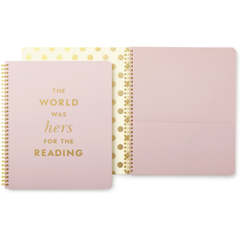 Kate Spade Large Spiral Lined Notebook,Notebook, Kate Spade New York - Yum Yum Store
