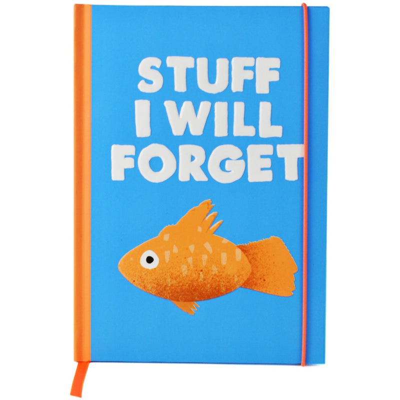 Jolly Awesome A5 Notebook - Stuff I Will Forget,Notebook, Jolly Awesome - Yum Yum Store