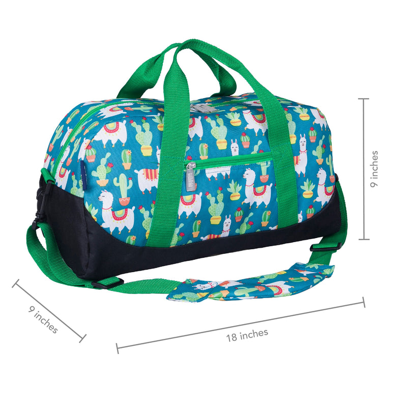 Wildkin Overnight Duffle Bag Llamas and Cactus,Duffle Bag, Wildkin - Yum Yum Store
