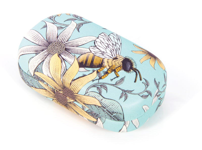 IS Gift Hard Storage Case Bees Mint,Storage, IS Gift - Yum Yum Store