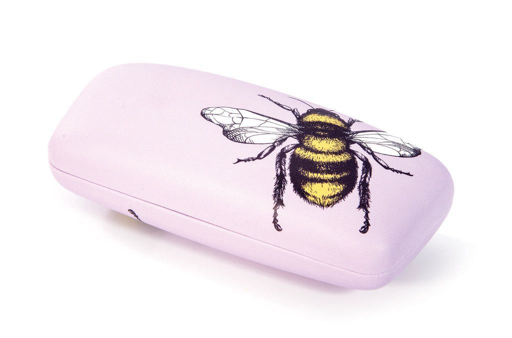 IS Gift Glasses Case - Bees Pink