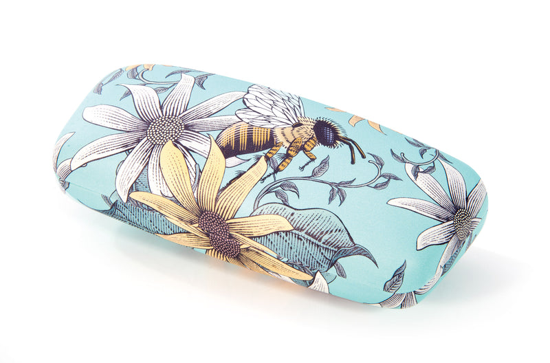 IS Gift Glasses Case - Bees Mint
