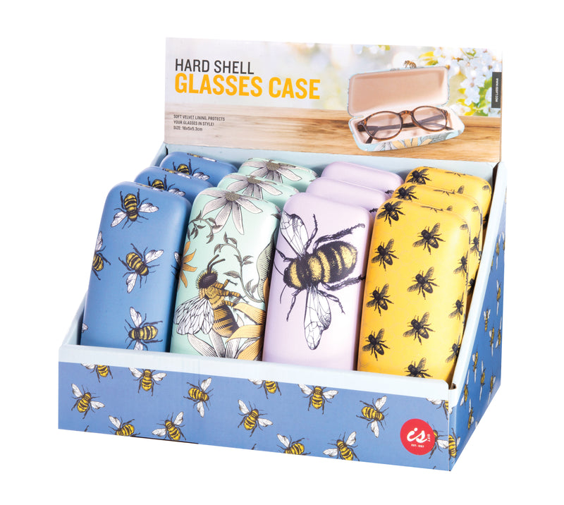 IS Gift Glasses Case - Bees Yellow