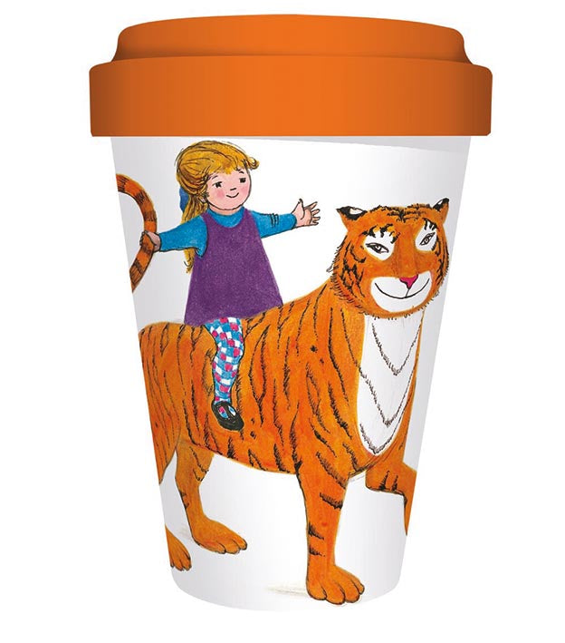 Museums & Galleries Tiger Who Came to Tea Bamboo Travel Cup 450ml