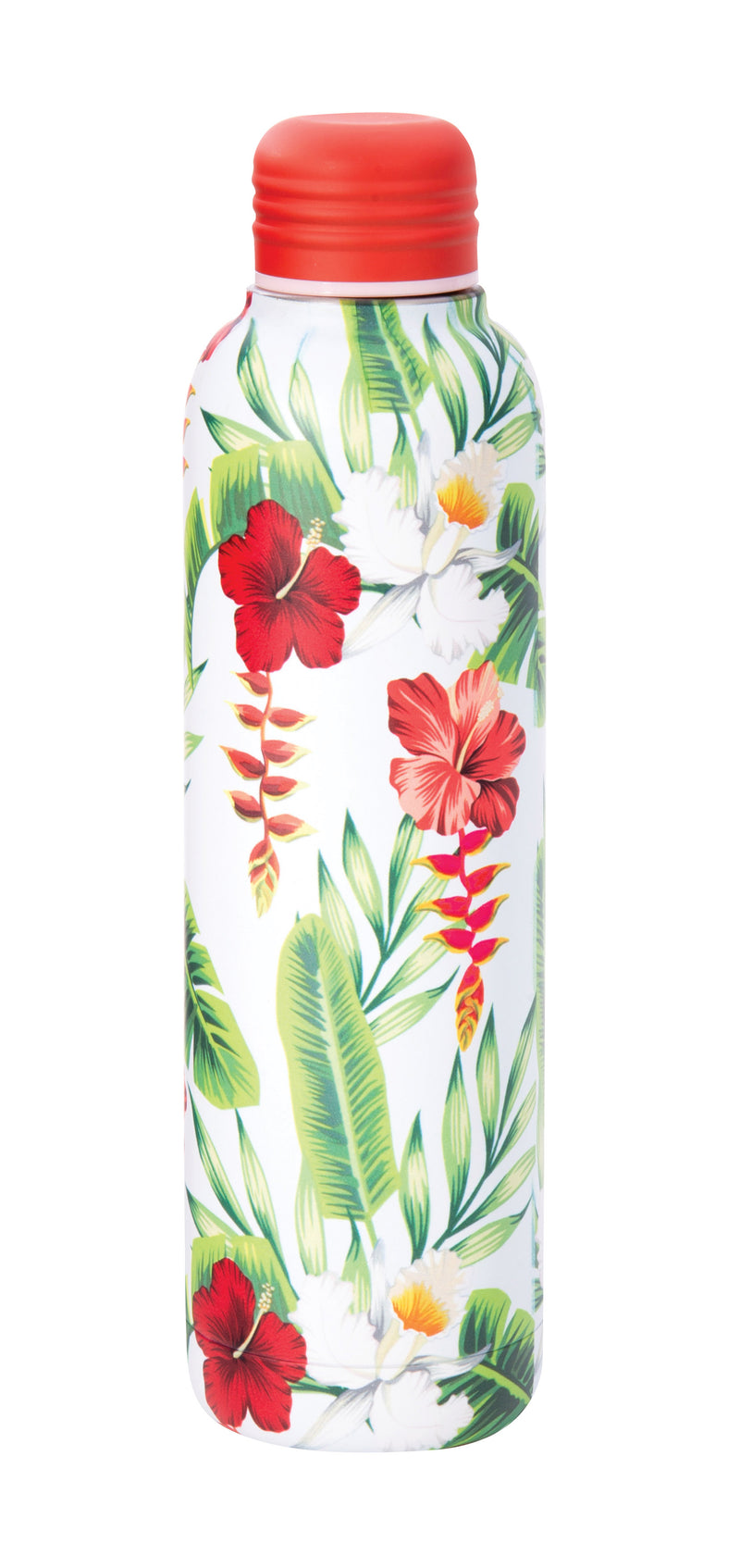 IS GIFT Insulated Stainless Steel Water Bottle 500ml - Tropical White,Stainless Steel Water Bottle, IS Gift - Yum Yum Store