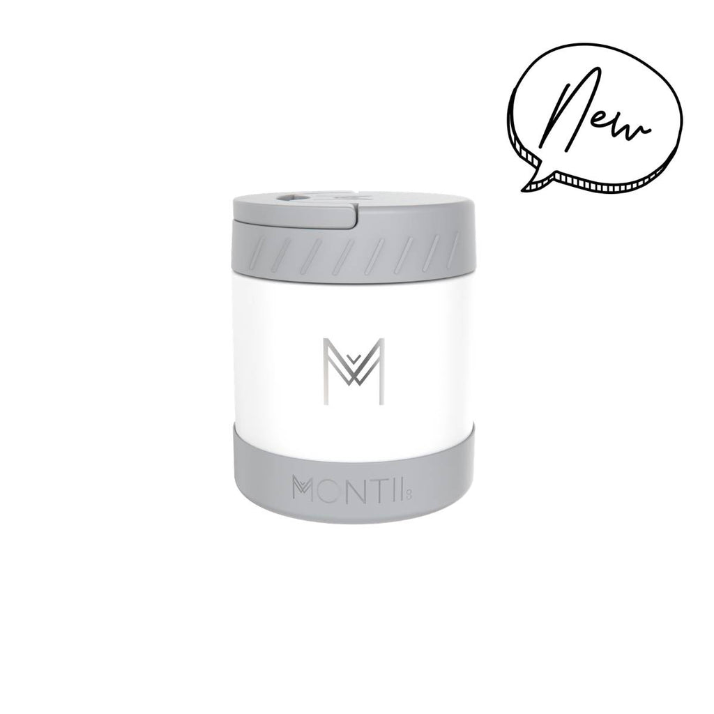 Montii Co. Insulated Food Jar 400ml White