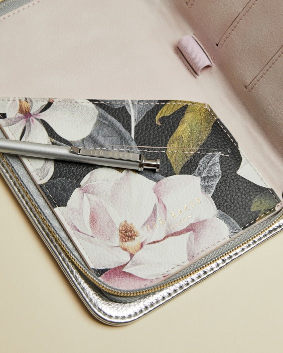 Ted Baker Travel Organiser Silver,Travel Wallet, Ted Baker - Yum Yum Store