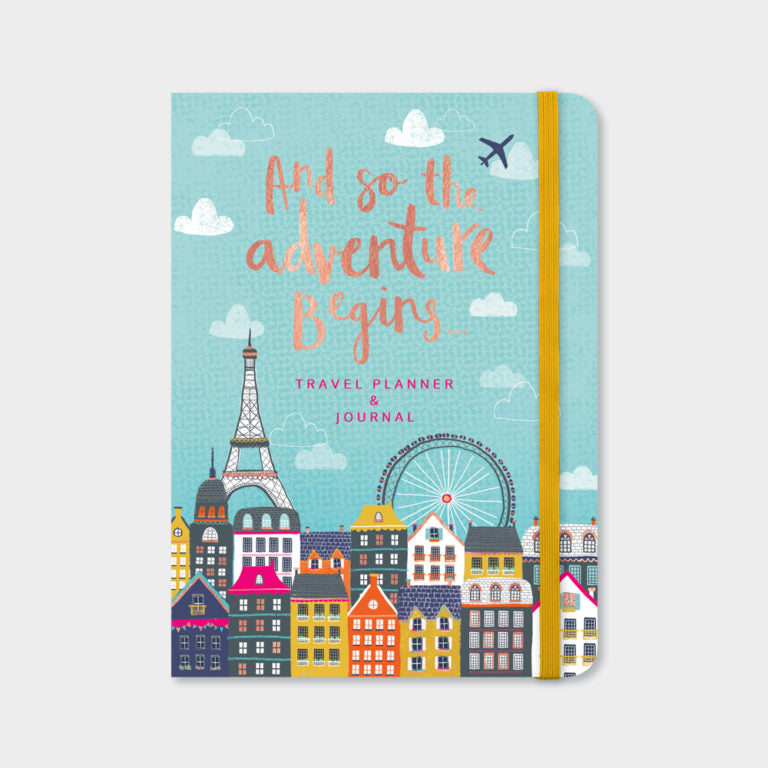 Rachel Ellen Travel Planner & Journal