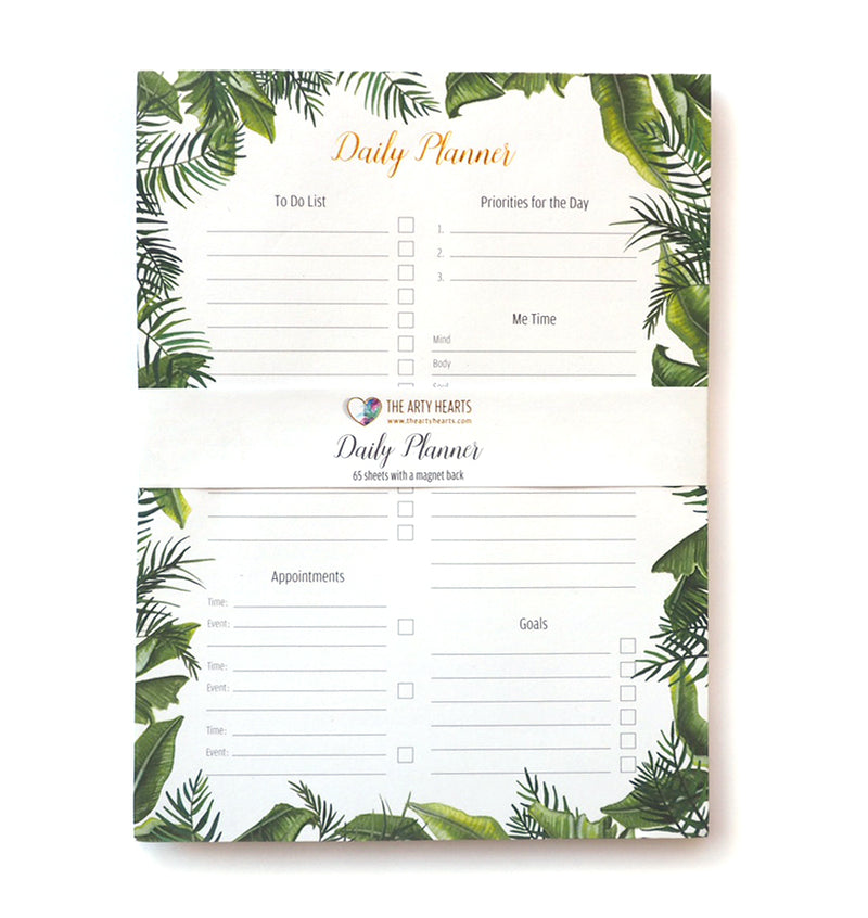 Arty hearts Tropical Daily Planner,Planner, Arty Hearts - Yum Yum Store