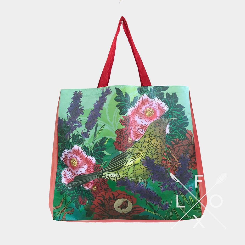Flox Reusable Shopping Bag Korimako