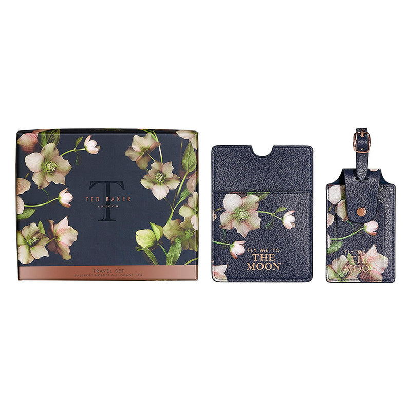 Ted Baker Luggage Tag & Passport Set Arboretum,Travel Wallet, Ted Baker - Yum Yum Store