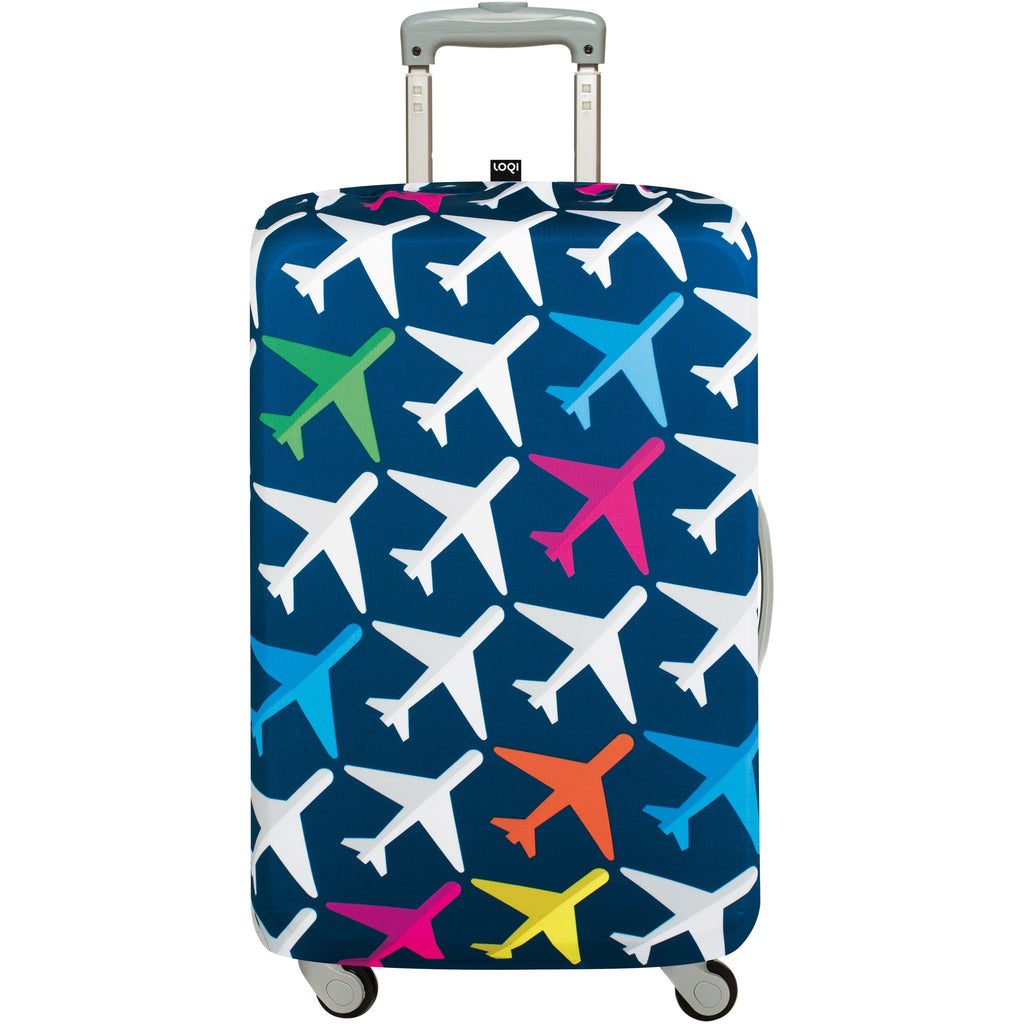 Loqi Luggage Cover Airport - Medium,luggage cover, Loqi - Yum Yum Store