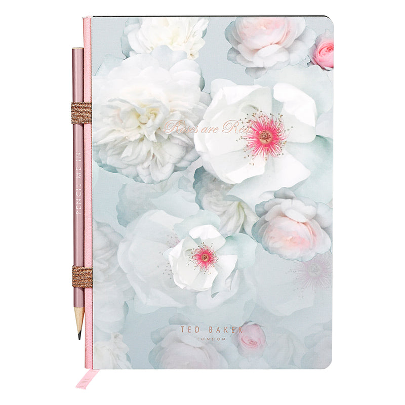 Ted Baker A5 Notebook Chelsea with Pencil,Notebook, Ted Baker - Yum Yum Store