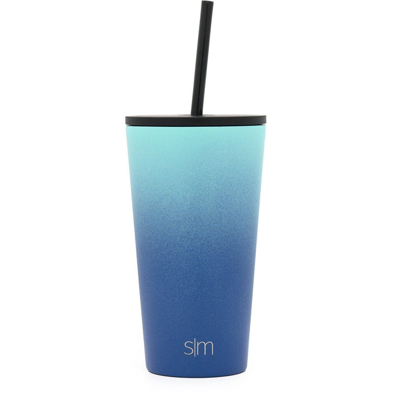 Simple Modern 480ml Classic Travel Mug & Tumbler with 2 Lids: Straw and Flip - Pacific Dream