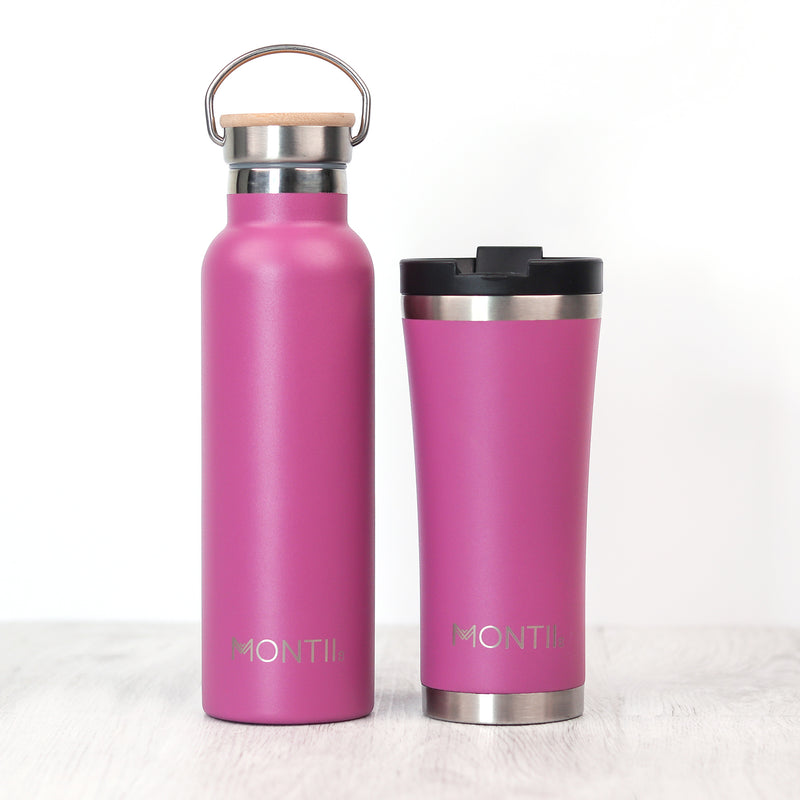 Montii Co Insulated Drink Bottle Rose