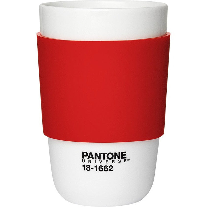 Pantone Classic Ceramic Coffee Cup - Red,Ceramic Cup, Pantone - Yum Yum Store