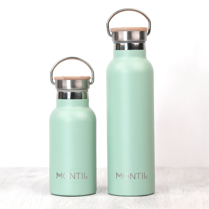 Montii Co Insulated Drink Bottle Eucalyptus