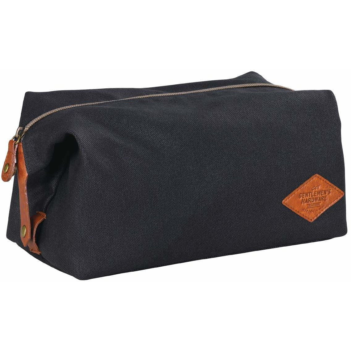 72bc37f1d4 Gentleman s Hardware Men s Waxed Canvas Wash Bag