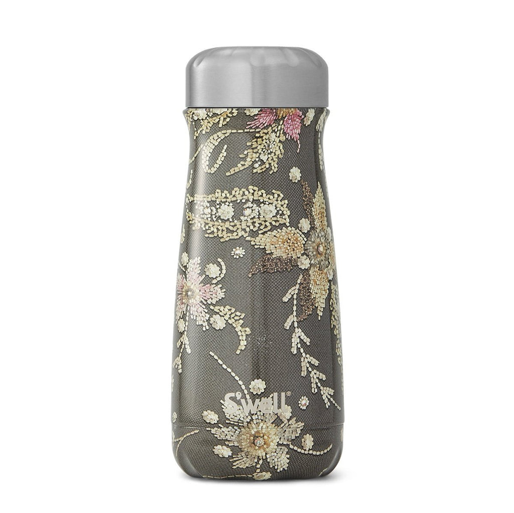 S'well Traveller Sequin Collection - 470ml Antique Belle,Reusable Coffee Cup, S'well - Yum Yum Store
