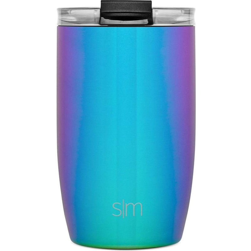 Simple Modern 355ml Voyager Travel Mug with Clear Lid & Straw - Prism