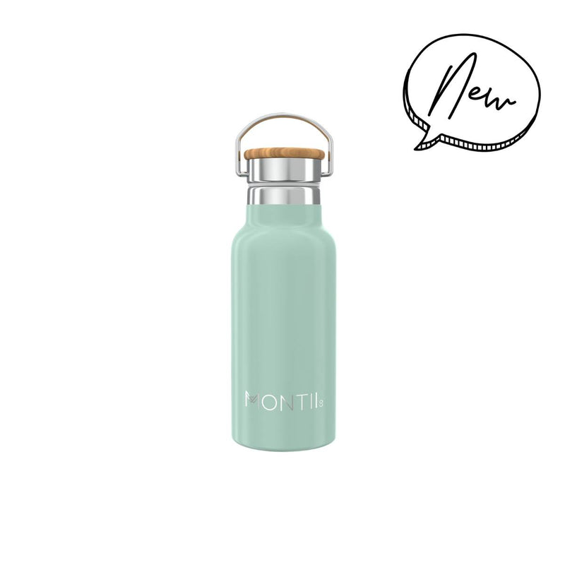 Montii Co Insulated Drink Bottle 350ml Eucalyptus