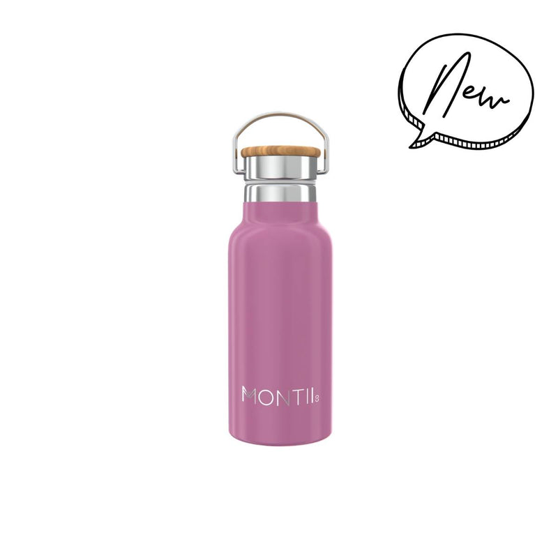 Montii Co Insulated Drink Bottle 350ml Rose