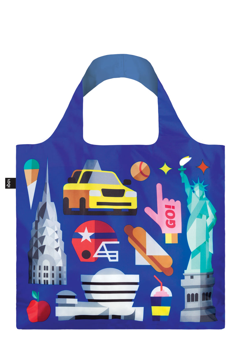 Loqi Reusable Shopping Bag Hey Collection New York