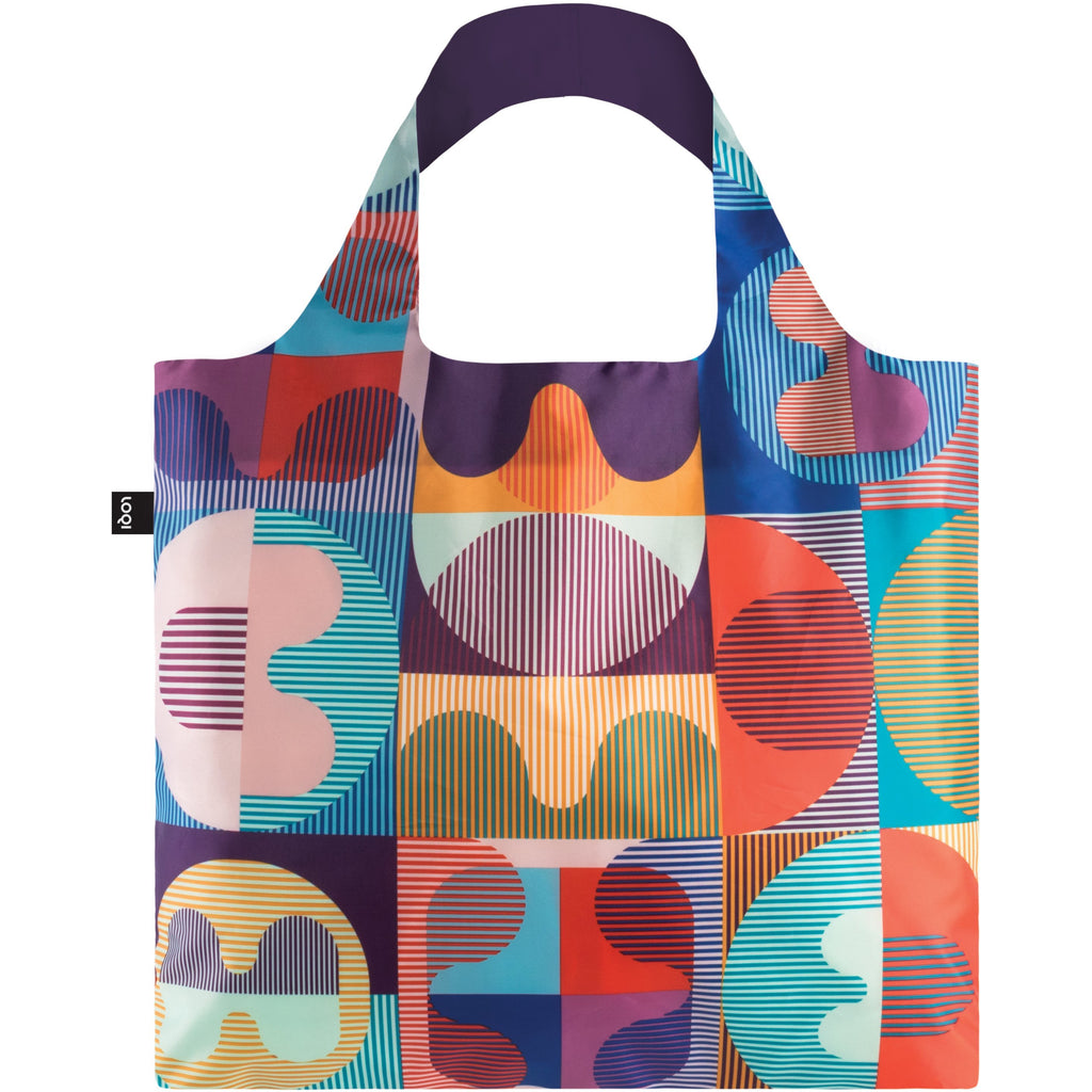 Loqi Reusable Shopping Bag Hvass & Hannibal Collection - Grid,Reusable Shopping Bag, Loqi - Yum Yum Store