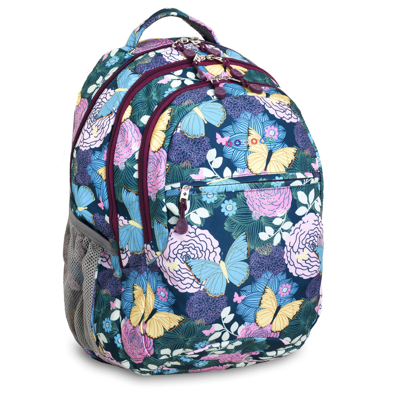 JWORLD New York Cornelia Backpack - Secret Garden,Backpack, J World New York - Yum Yum Store