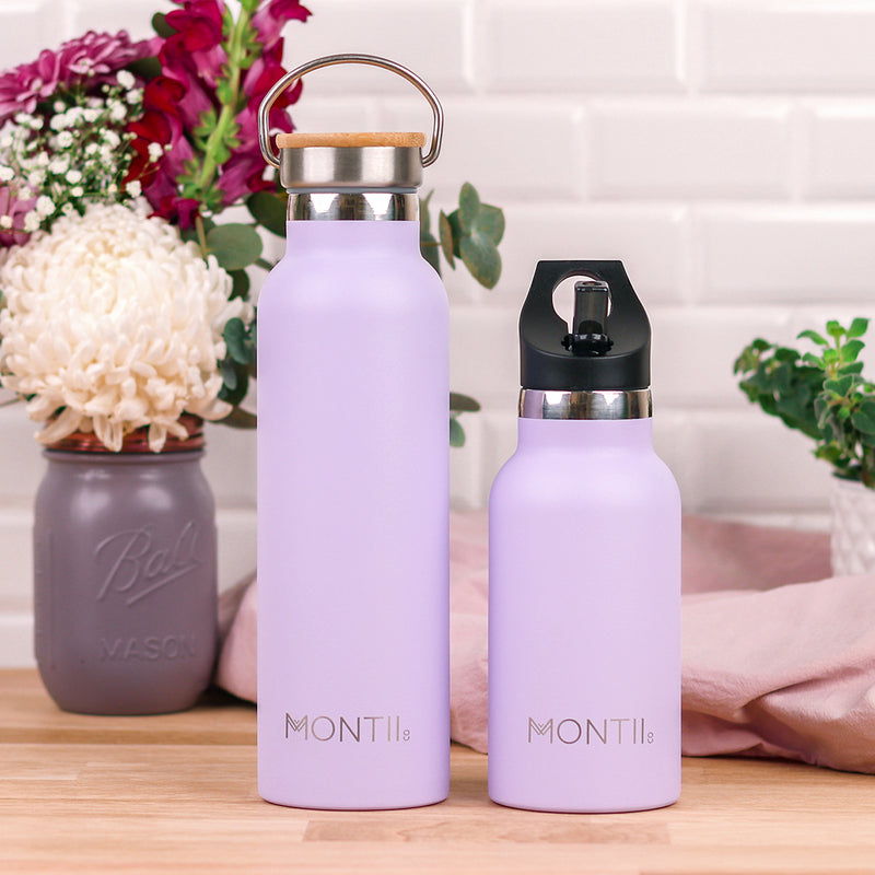 Montii Co Insulated Drink Bottle Lavender
